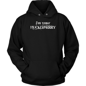 I'm Your Huckleberry (vintage distressed look)