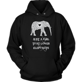 Just a Girl Who Loves Elephants - Elephant Lover Shirt