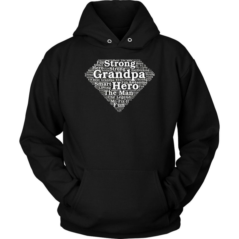 Super Hero Grandpa Shirt