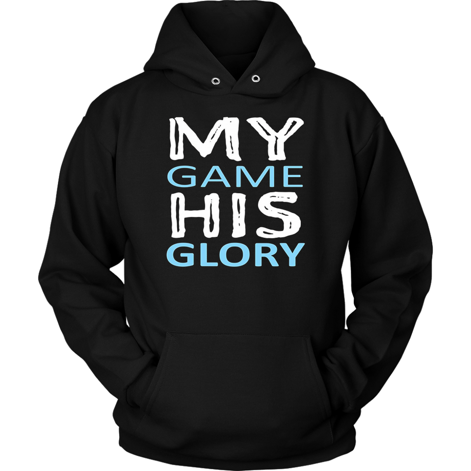My Game His Glory Christian Athlete T-Shirt for Ball Player