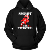 Sweet But Twisted Funny Candy Cane Christmas Shirt