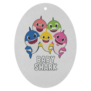 Baby Shark Air Freshener - 3 pack