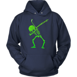Dabbing Skeleton Hockey T-Shirt