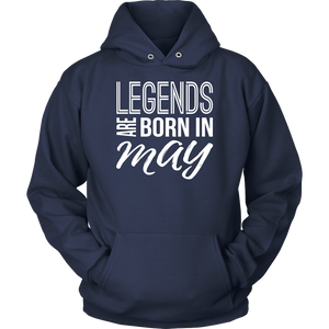 Legends Are Born in May TShirt