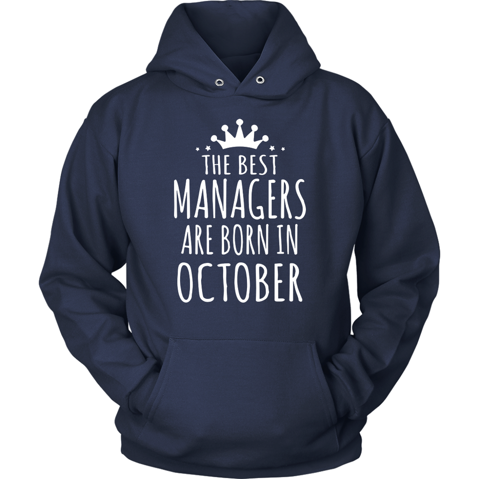 The Best Are Born In October Shirt