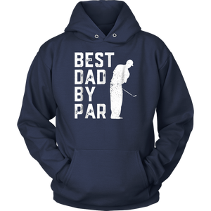 Father's Day Best Dad By Par Funny Golf Lover Gift T-Shirt