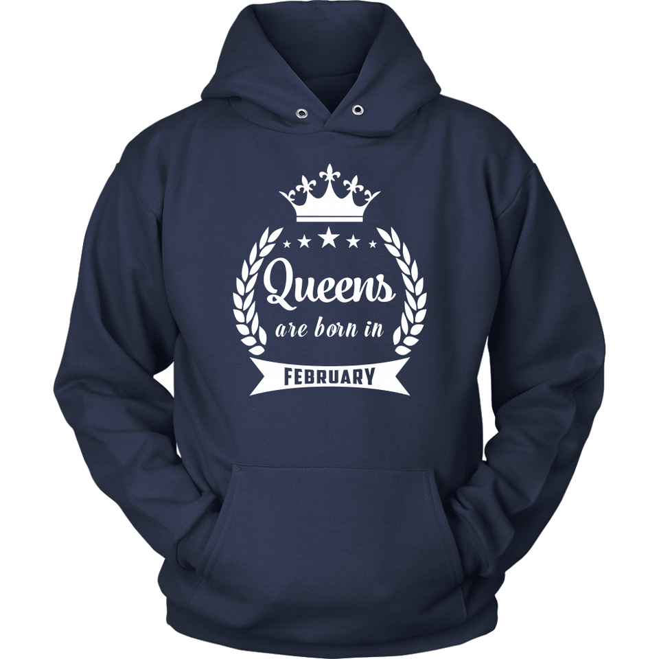 Queens Are Born In February TShirt