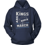 Perfect Kings Are Born In March Birthday TShirt