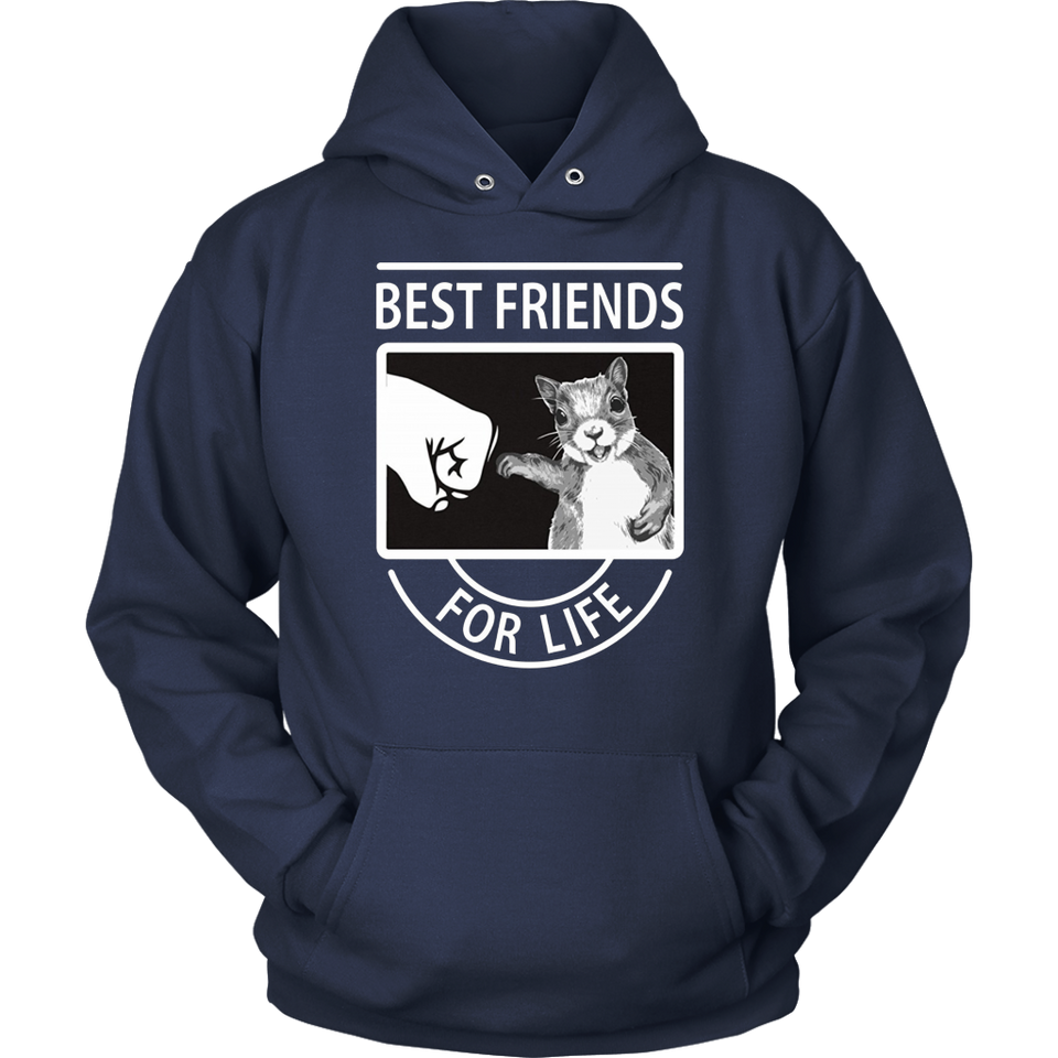 Squirrel Best Friend For Life T-shirt