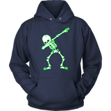 Dabbing Skeleton T-Shirt Halloween Shirt