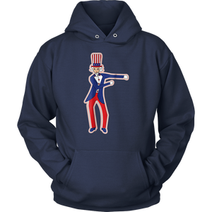 Floss Dance July 4th Uncle Sam T-Shirt