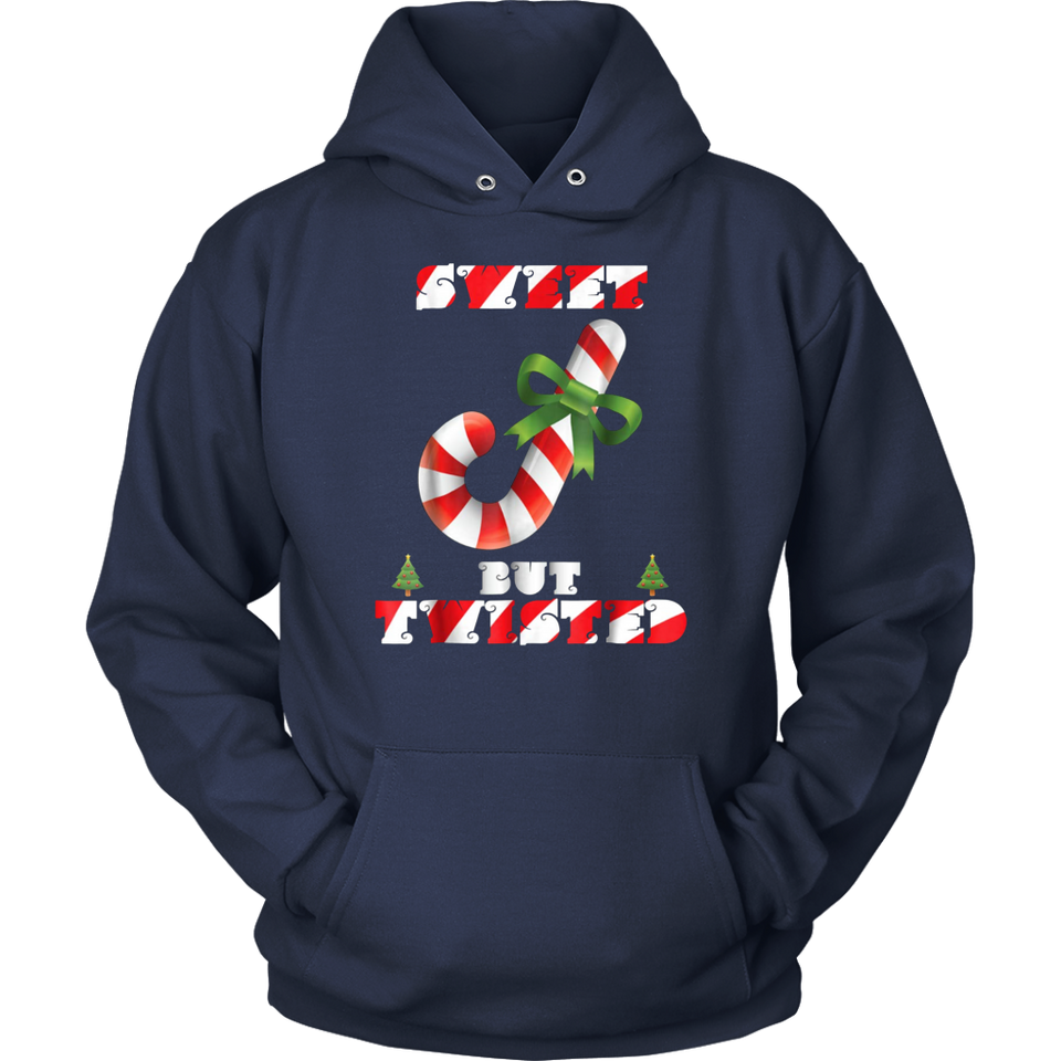 Sweet But Twisted Candy Cane Christmas T Shirt