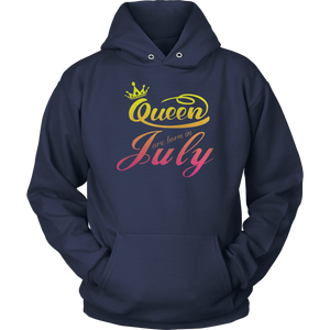 Queens Are Born In July Birthday Shirt