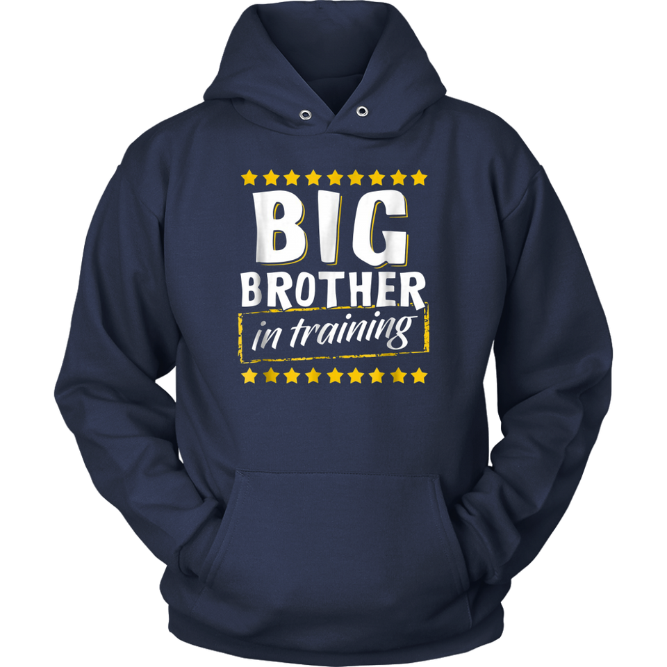 Big Brother In Training Baby Toddler Boys T-Shirt Tee