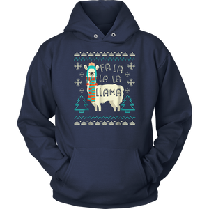 Ugly Christmas Sweater LLama Funny Holiday T-Shirt