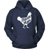 Mother's Day Gift Idea T-Shirt Mama Hen Chicken Cute Mom