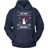 Go Jesus it's Your Birthday Ugly Christmas Sweater T-shirt