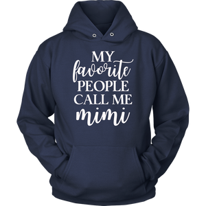 My Favorite People Call me Mimi T-shirt