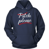 Pitch Please Funny Softball Baseball Shirt Sports Homerun