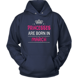 Princesses are born in March Shirt