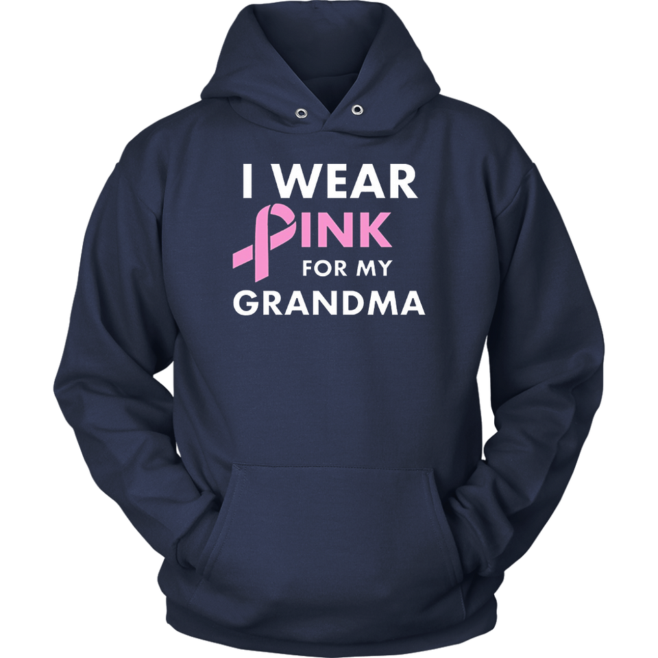 I Wear Pink for My Grandma Breast Cancer Awareness Shirt