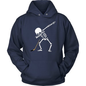 Dabbing Skeleton Hockey Shirt