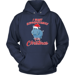 I Want a Hippopotamus for Christmas TShirt