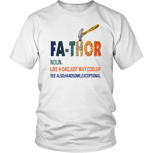 Handsome Exceptional Father T Shirts Father's Day Gift
