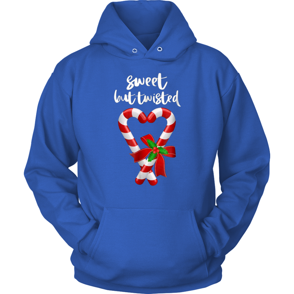Sweet But Twisted Funny Candy Cane Christmas TShirt
