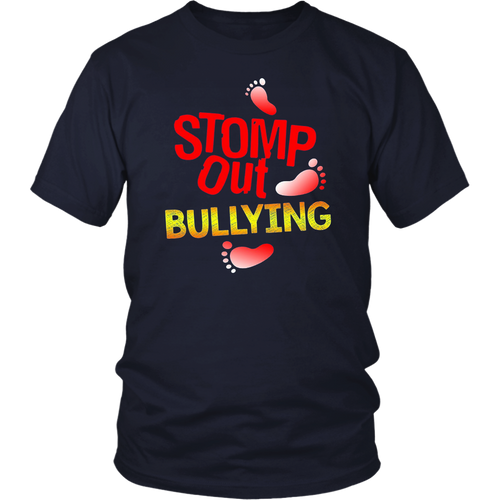 Stomp Out Bullying Anti Bully Equality Novelty T-Shirt T-Shirt