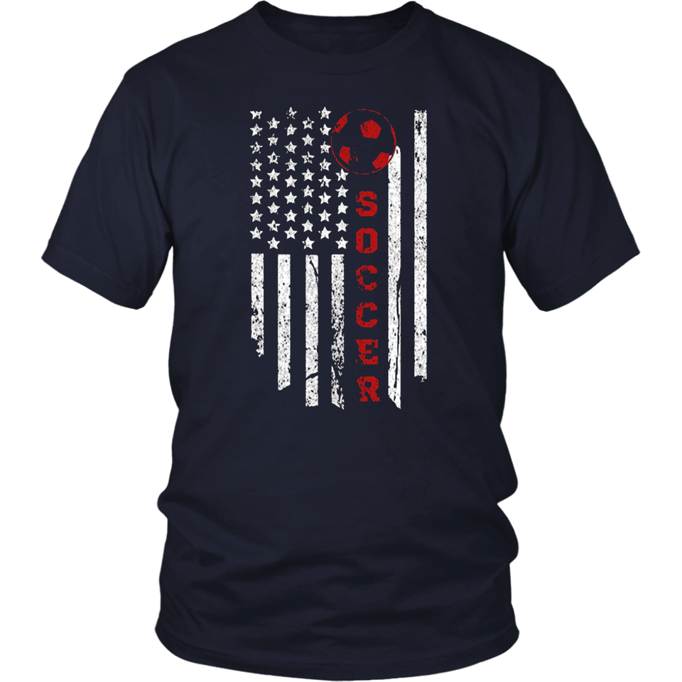 American Flag USA Soccer Shirts