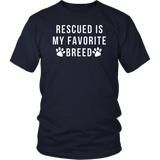 Dog Adoption T shirt Rescued Shih Tzu Breed Dog Pet Rescue