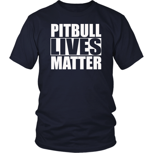 Pitbull Lives Matter Shirt Dog Pit Lovers
