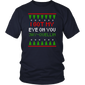 I Got My Eye On You Jay Quellin Ugly Christmas Sweater Gift