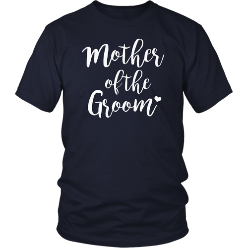 Womens Bridal Party Shirts Mother Of The Groom Purple
