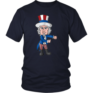 July 4th Uncle Sam Floss Dance T-Shirt