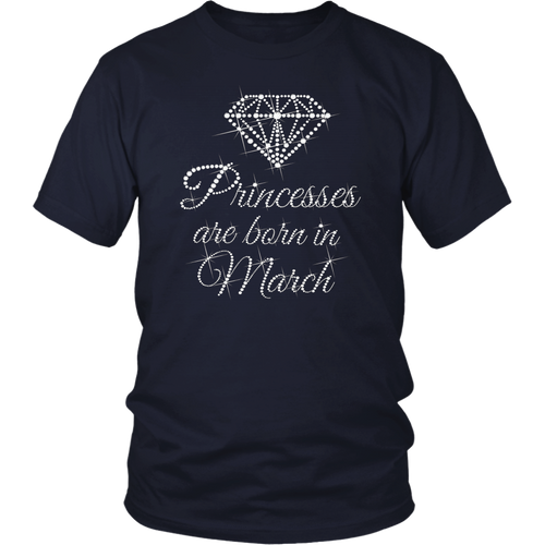 princess are born in March Shirts