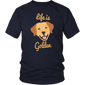 Cute Life is Golden Retriever Dog lovers Gift TShirt