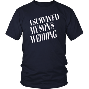 I Survived My Son's Wedding Shirt