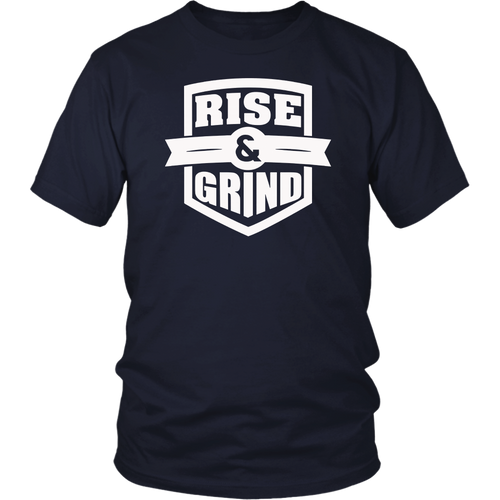Baseball Rise + Grind Home Plate Brush Stroke T-Shirt
