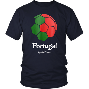 Portugal Soccer Jersey Russia 2018 Football Team Fan Shirt