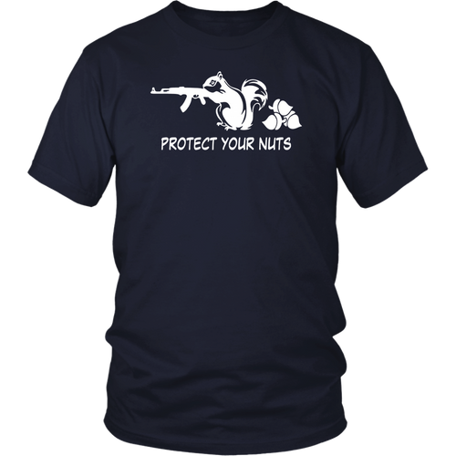 AK47 Rifle Squirrel Protect Your Nuts Gun AK-47 Funny Animal