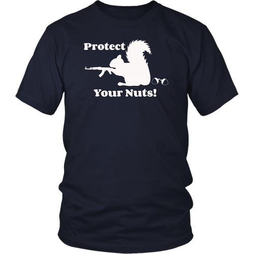 Funny Squirrel Tee Protect Your Nuts forest rodent T-shirt