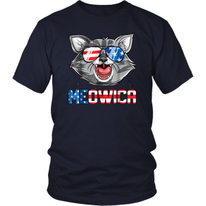 Meowica 4th of July Gifts T Shirt