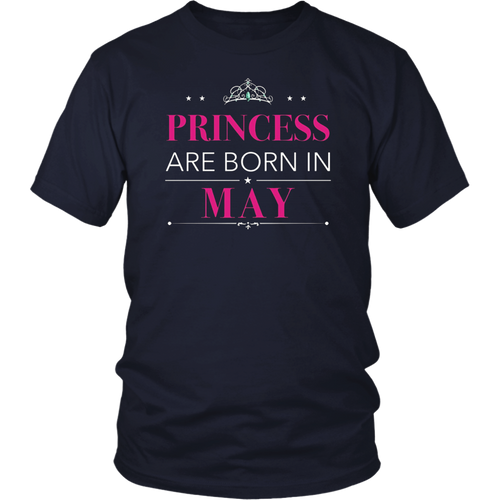 Princesses Are Born in May TShirt