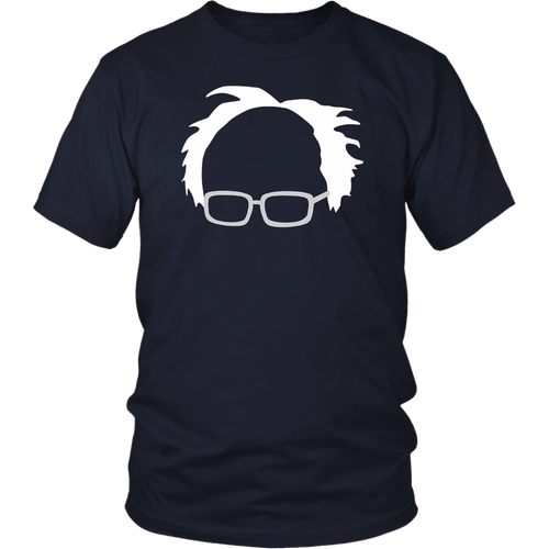Bernie Sanders Hair And Glasses T-Shirt