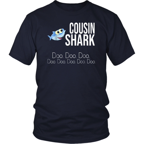 Cousin Shark Doo Doo Doo Shirts