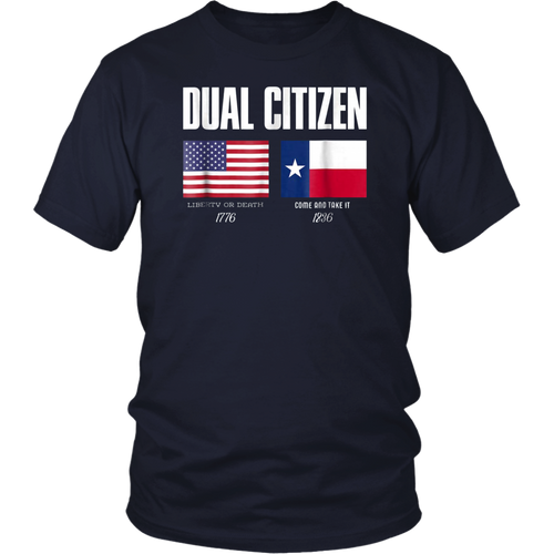 Dual Citizen Texas American Pride T-Shirt