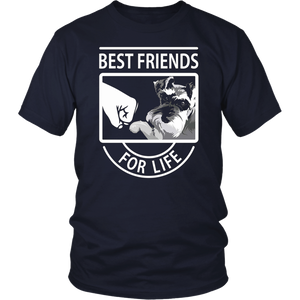 Schnauzer Best Friends For Life tshirt