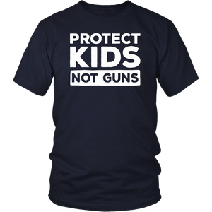 Protect Children Not Guns - Anti-Gun Shirt Orange